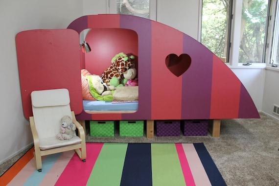 Digital Download / Kids Bed / Girl Bed / Boy Bed / Childrens Bed / Girls  Bedroom Furniture / Boys Bedroom Furniture / Twin Bed Plans /Camper