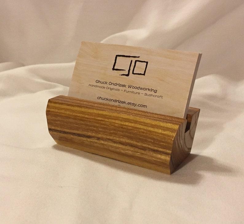 Schöne Mulberry Holz Visitenkarten Etui