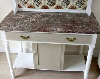 Painted Vintage WashStand