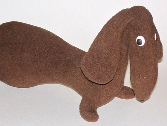 Hund Hund Nähen Muster Muster Hund Stofftier Muster Dackel | Etsy