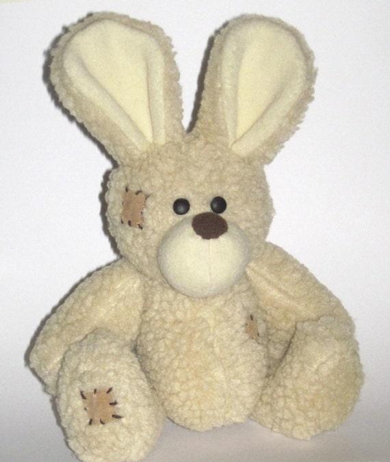 Patrón de costura del conejo de conejito Conejito patrón | Etsy