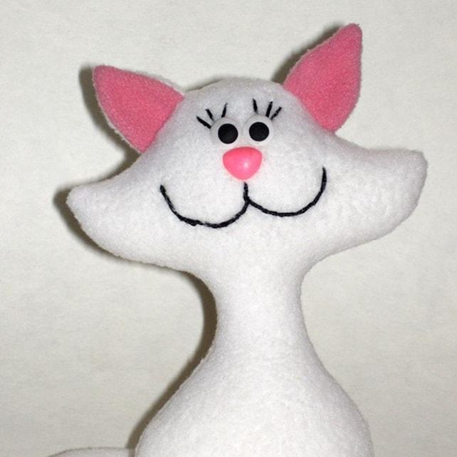 patrón de costura de gato gato patrón gatos de patrón | Etsy