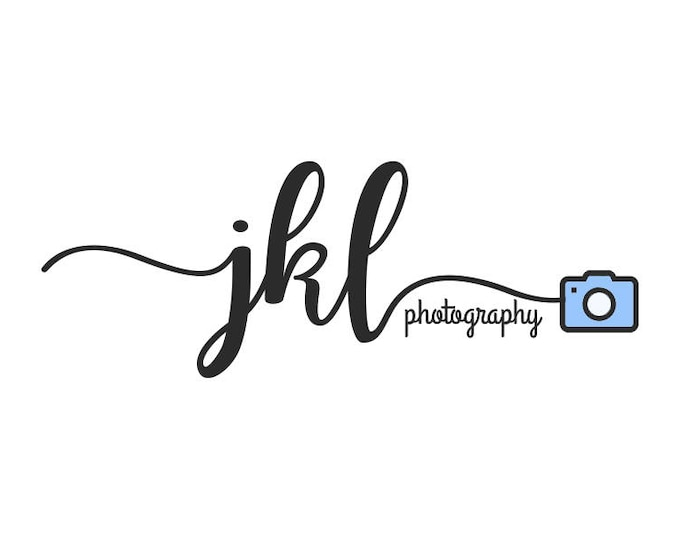 Customized photography logo