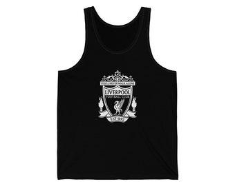 394427ce8b5 Liverpool FC white Unisex Jersey Tank