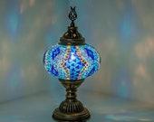 Turkish Table Lamp Moroccan Decor Lantern Moon Lamp Bedside Table Lamp - Free Shipping