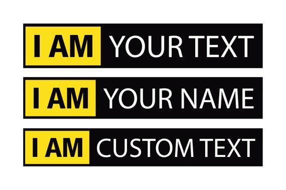 Custom nikon stickers