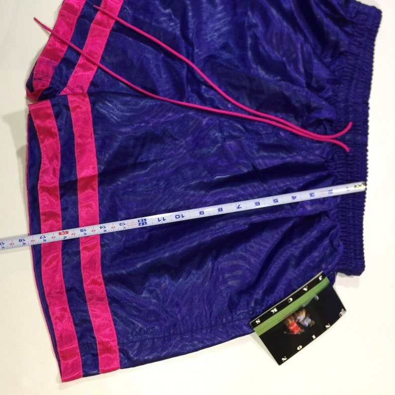 Vtg New With Tag UNION JACKS European Style Soccer Shorts 1990 Men\u2019s Large S2