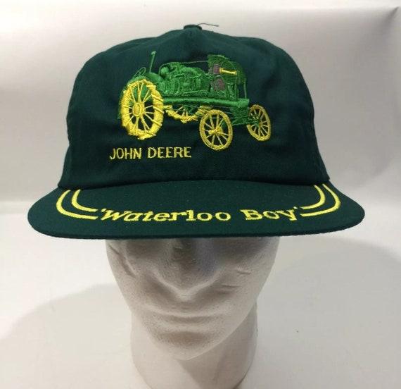 Collector Hat 1991 5 Waterloo Boy John Deere Farming Hat  5724d769b020