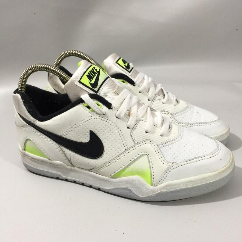 0dbed7119edb4 True Vintage Nike Tennis Neon Sneakers 901012IT 8.5US 7.5UK 42EUR 26.5CM  RARE!