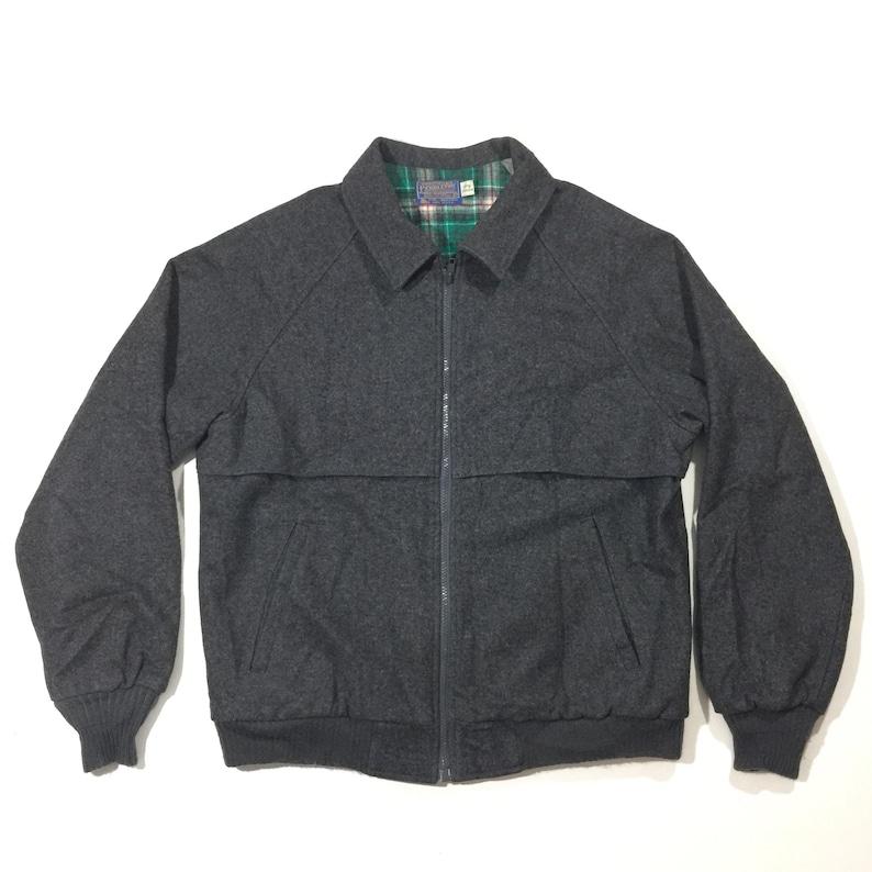 e2476a0b67fbf Vintage Pendleton made In USA Medium Jacket Plaid Lined Interior 100%wool E2