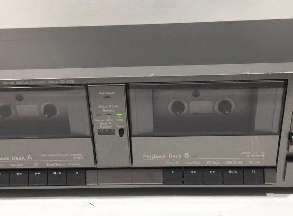 Marantz Stereo Double Cassette Deck SD-432 USA JAPAN