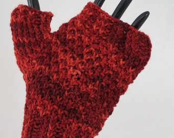 Red Short Handwarmers