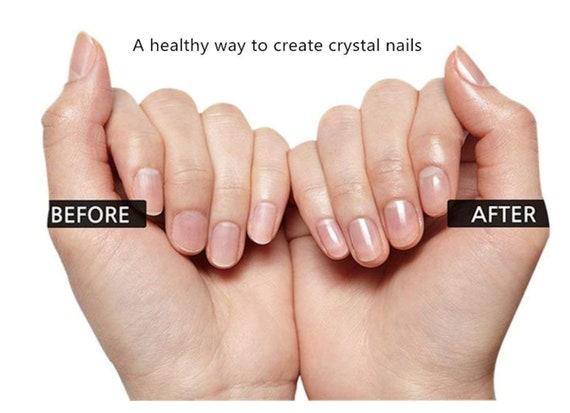 Rose Gold Nail File Nail Buffer Salon Best Beauty Natural Acrylic ...