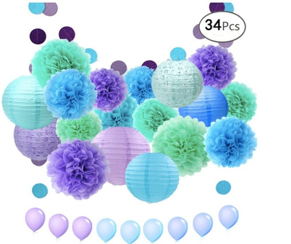 Mermaid Party Decorations Sea Theme Decorations Under The