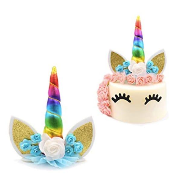 Unicorn Cake Topper Birthday Party