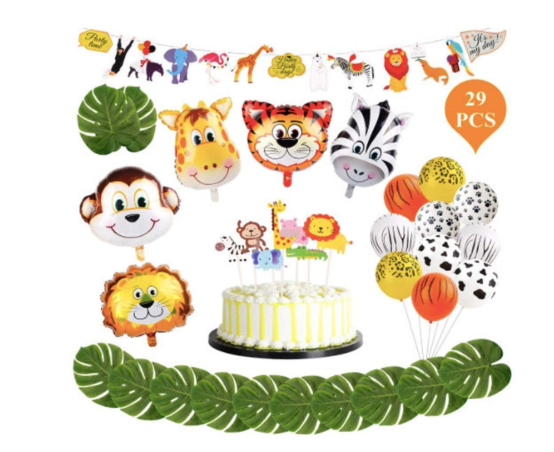 5faae05f18d Safari Party Supplies Jungle Theme Party Jungle Balloon Animal