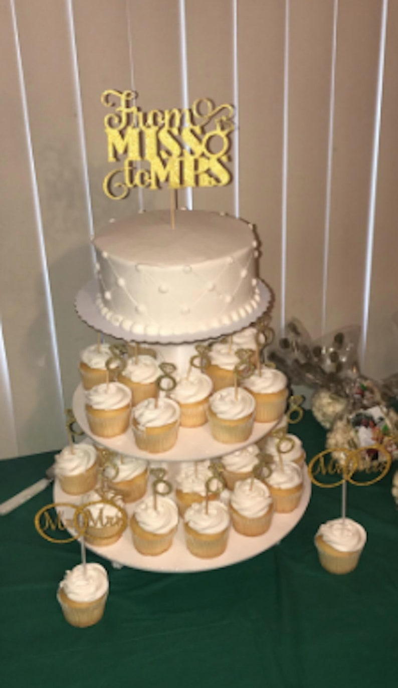 50: Wedding Ring Cupcake Picks At Websimilar.org