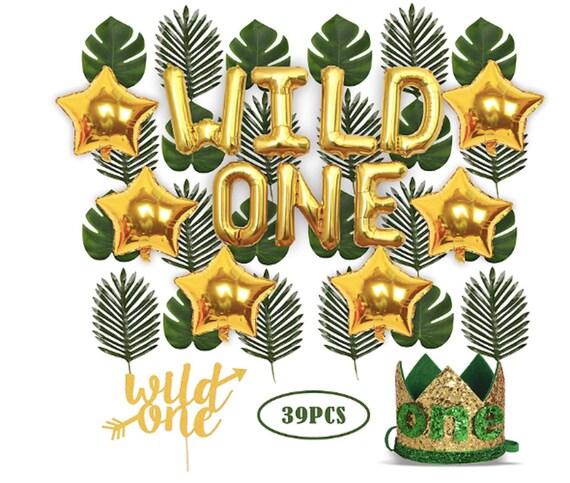 Wild One Birthday Decorations 1st Boy