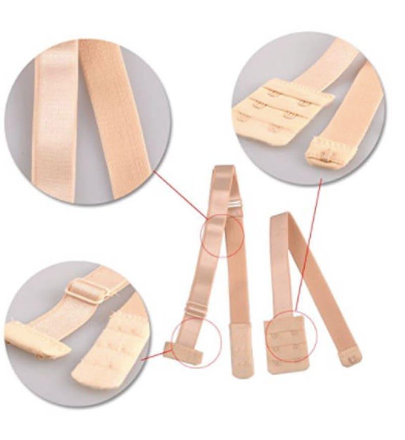 777d9d697d101 Bra Strap Converter Adjustable Bra Extension Women Low Back Fully Hook Bra  Lingerie Extension Straps closure and fastener nude bra fasteners