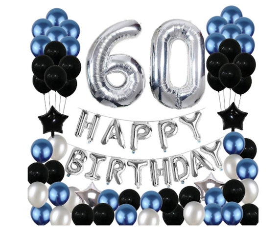 Cheers to 60 Years Birthday Beads Party Favors 12 beads