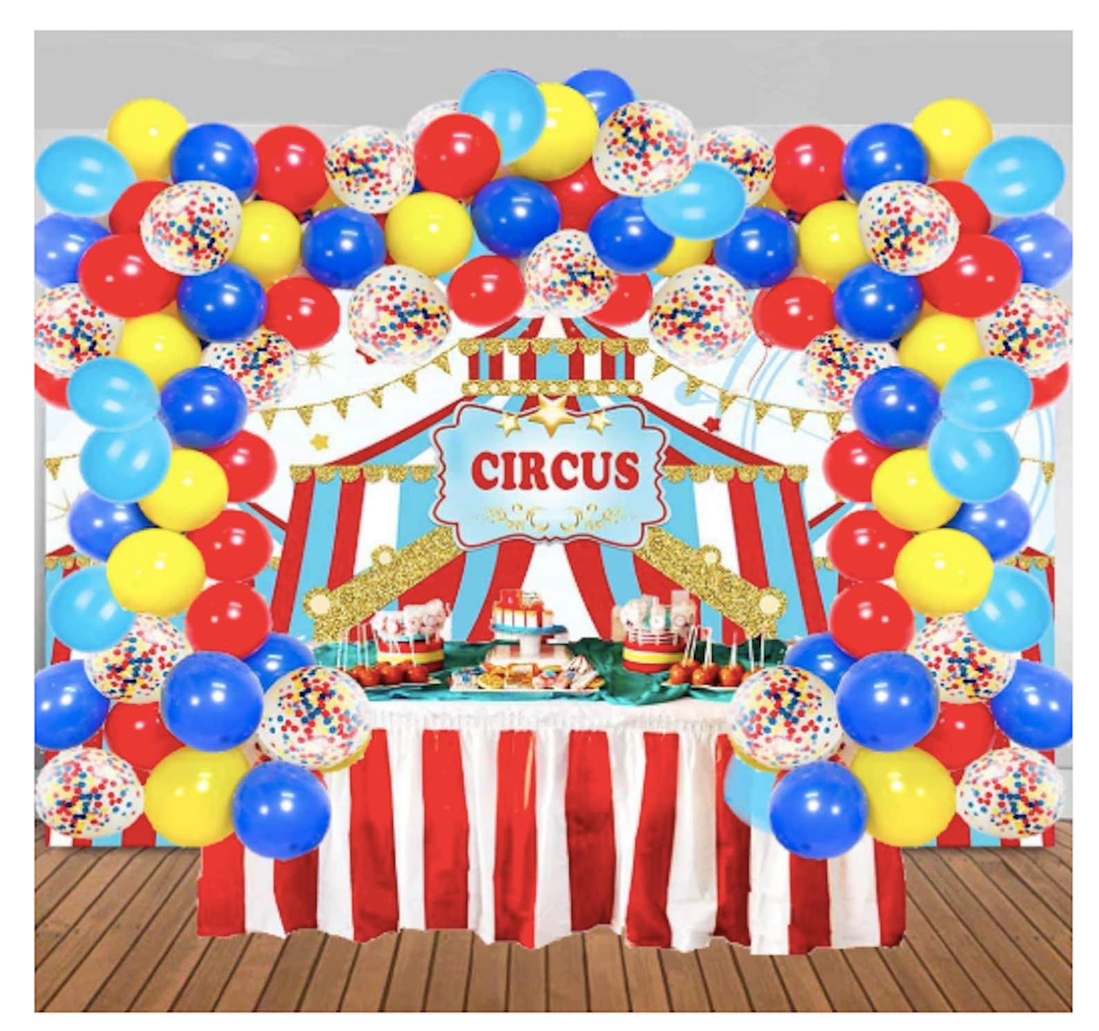 Circus Party Balloon Garlands