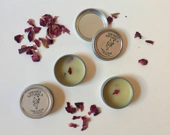Vanilla Rose Lip Balm 0.25 oz tin