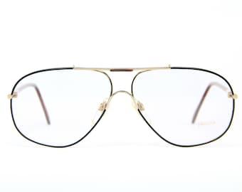 661df2fa7b6 XL Authentic Aviator JAGUAR 301-925 Vintage Brille Eyeglasses Frame  Occhiali Lunettes Gafas Bril Free Shipping