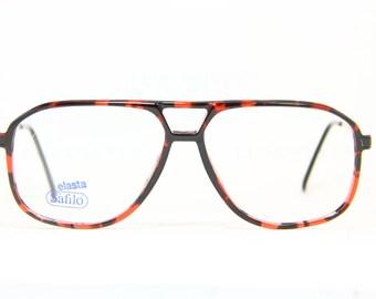 56f43810f293 SAFILO Aviator True Vintage Brille Eyeglasses Lunettes Occhiali Gafas  SPORTING 1802 56-13 Frame Italy