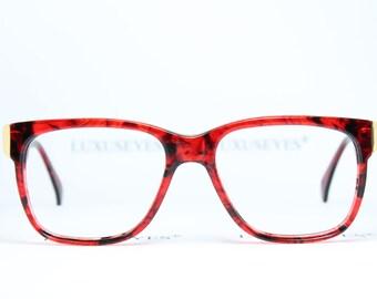 f82cd885abb832 MENRAD Nerd Red Golden True Vintage Brille Eyeglasses Lunettes Occhiali  Gafas Bril 261-210 54-17 Unique