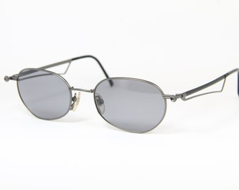 e488a8b2f2a YOHJI YAMAMOTO Grey Steampunk Vintage Sunglasses Sonnenbrille Occhiali  Lunettes Gafas Bril 52-4108 3 Made in Japan free Shipping