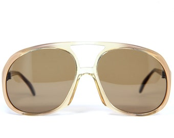 b3bf676f4df Used PB Unique Aviator Vintage Sunglasses Sonnenbrille Occhiali Gafas Bril  Free Shipping