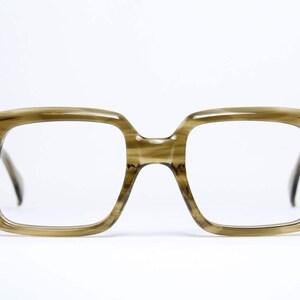 RÖHM Massive thick striking rare Vintage Brille Eyeglasses Lunettes  Occhiali Gafas TARYN 52-22 Made in Germany e64ad8f70600