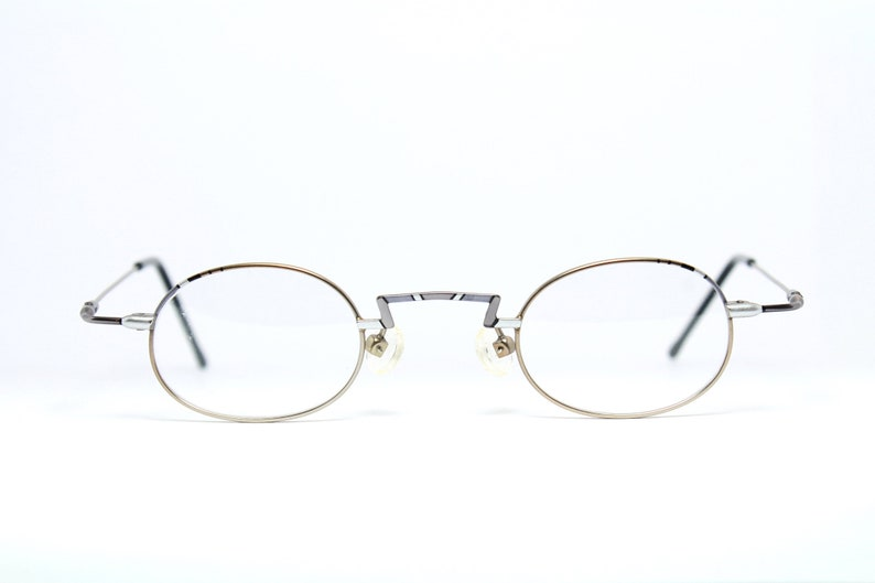 0c6fb1b30ad3af MENIA 4090-1 37-28 Small Lenses Oval Reading Glasses Brille