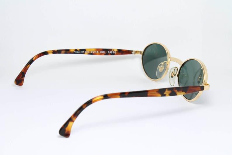 68c0c12222 ALAIN MIKLI Gold Filled Unique Vintage Sunglasses Sonnenbrille