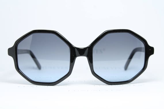 Octagonal NICE Yd'e Lunettes real Oversized Unique