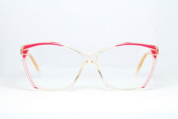 Unique Pink Lozza 56 12 Glasses Vintage Brille Eyeglasses Etsy