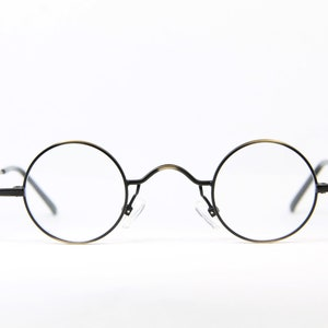 Micro 34 28 As Meg Germany Round Small Lenses Vintage Brille Etsy