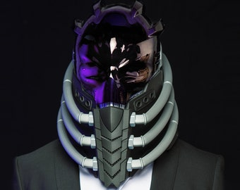 Scifi helmet | Etsy