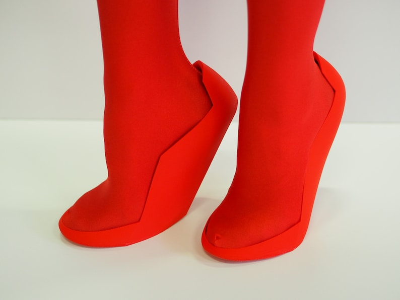 8ac328d315 Zero Two's Shoes 3D Printed   Etsy
