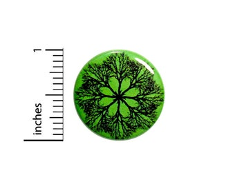 Tree of Life Button Backpack Pin Mandala 1 Inch #65-7