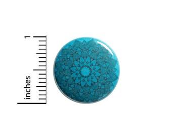 Mandala Button Backpack Pin 1 Inch #82-24