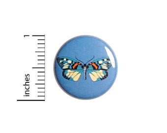 Moth Butterfly Button // Vintage Style Pin // Cool Brooch // Badge // Pin for Backpacks Jackets // Cute Pinback // 1 Inch 94-32