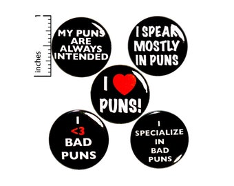 Funny Buttons Pins