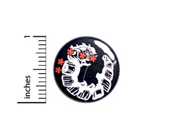 Absolem Caterpiller Pin, Alice In In Wonderland, Lapel Pin, Button Pin for Backpacks or Fridge Magnet, Backpack Pin, 1 Inch 95-10