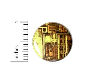 Computer Graphic Button // Cosplay Pin for Backpacks or Jackets // Nerdy Geeky Badge // Pin 1 Inch 4-12