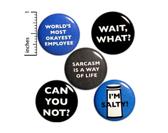 Funny Buttons Pins - Outerspacebacon