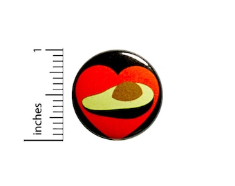 Avocado Button I Love Avocados Backpack Pin Cute Pin Lapel Pin Brooch Pinback 1 Inch #82-2