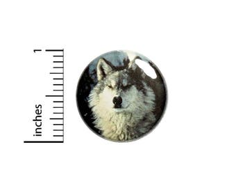Cool Wolf Button Badge Backpack Jacket Pin Rad Pinback Wolves Gift 1 Inch #1-28