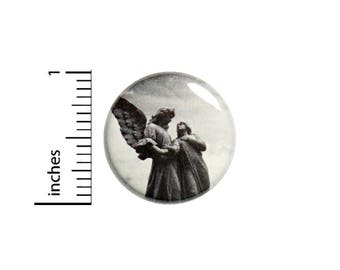 Cool Angel Statue Button Badge Gothic Style Backpack Pin Pinback 1 Inch #1-27