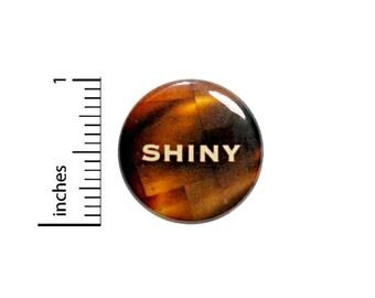 Shiny Button Geekery Nerdy Geeky Fan Pin Pinback 1 Inch
